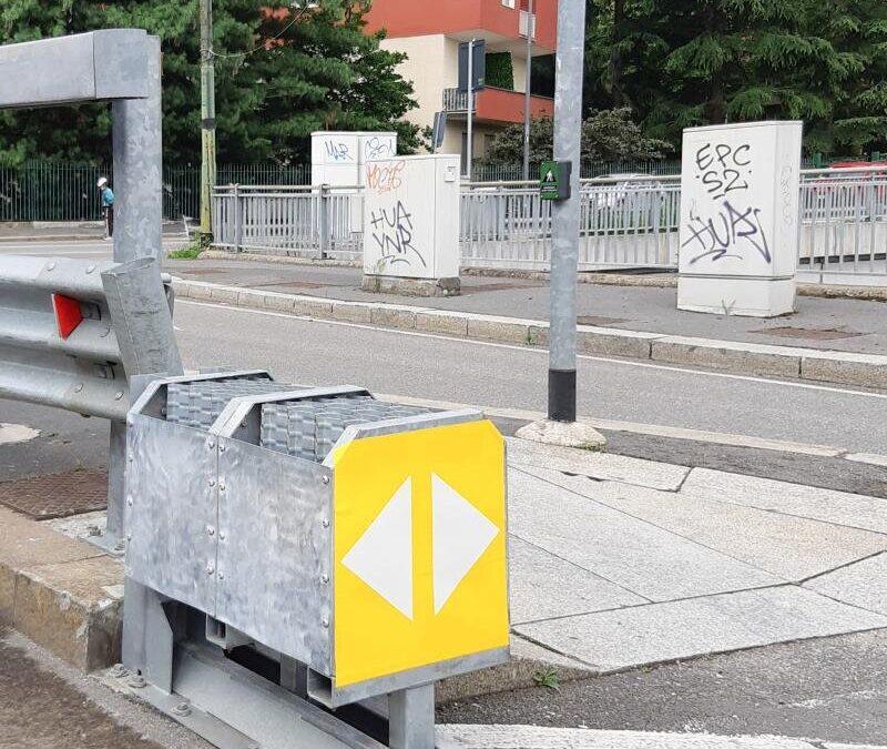 Atenuadores de impacto visten y protegen las ciudades del SXXI